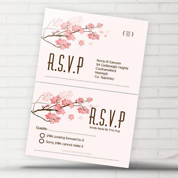 Cherry Blossom RSVP