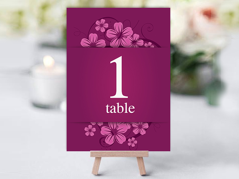 Ballymornay Purple Table Name