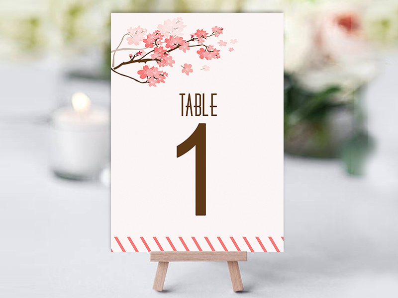 CherryBlossom Table Name