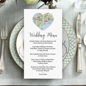 CountyHeart Wedding Menu