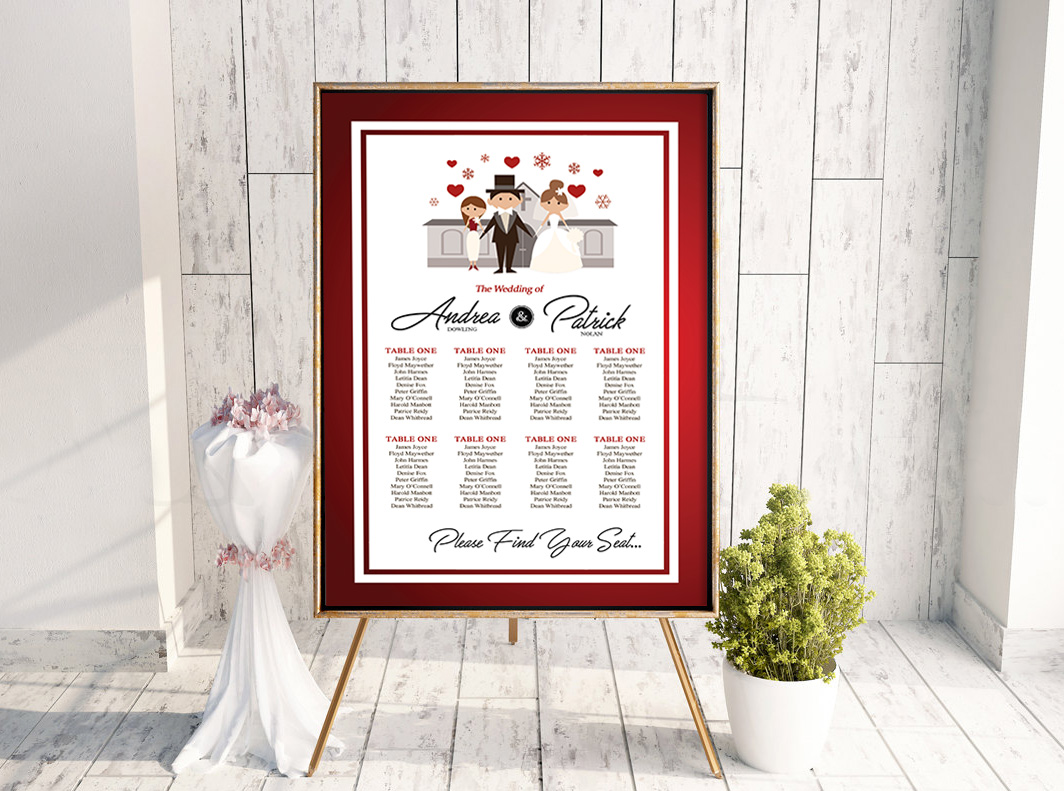 Dowling Family Table Plan