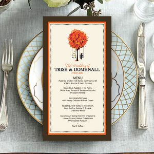Dunlea CreOra Wedding Menu