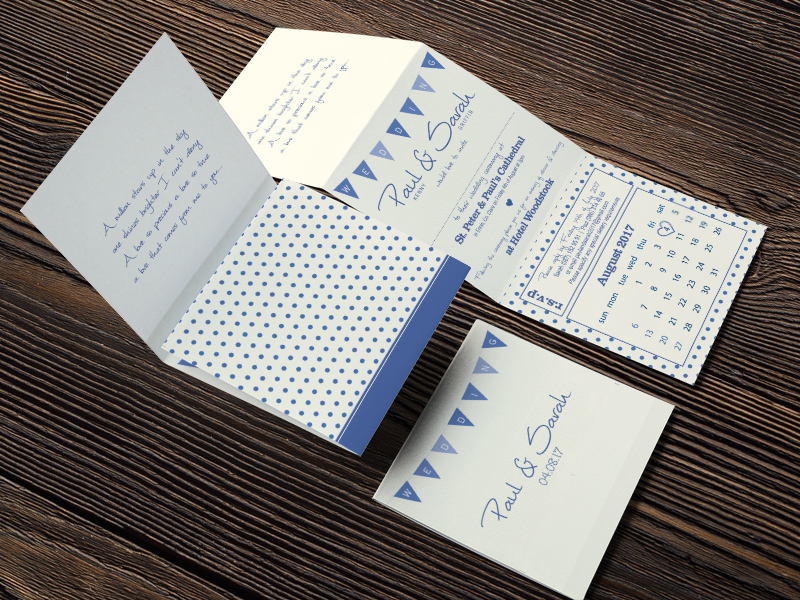 sargriff cream tri fold invite now and forever