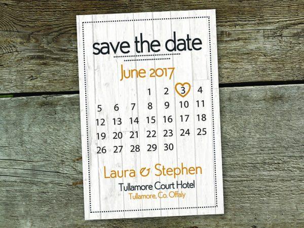 Bracken Calendar Save The Date