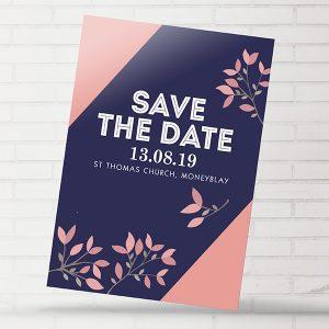 Moneyblay Modern Save The Date