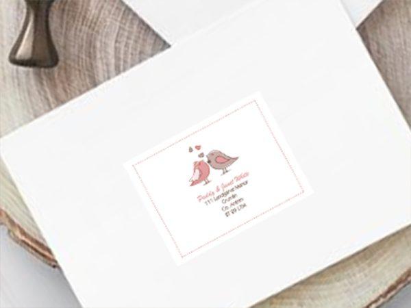 Wedding Guest Address Label