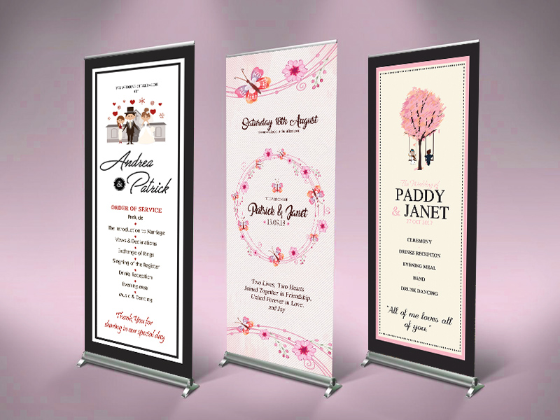 Wedding Welcome Banner