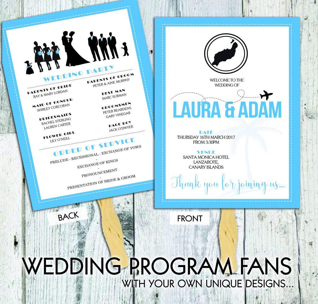 Wedding Ceremony Fan